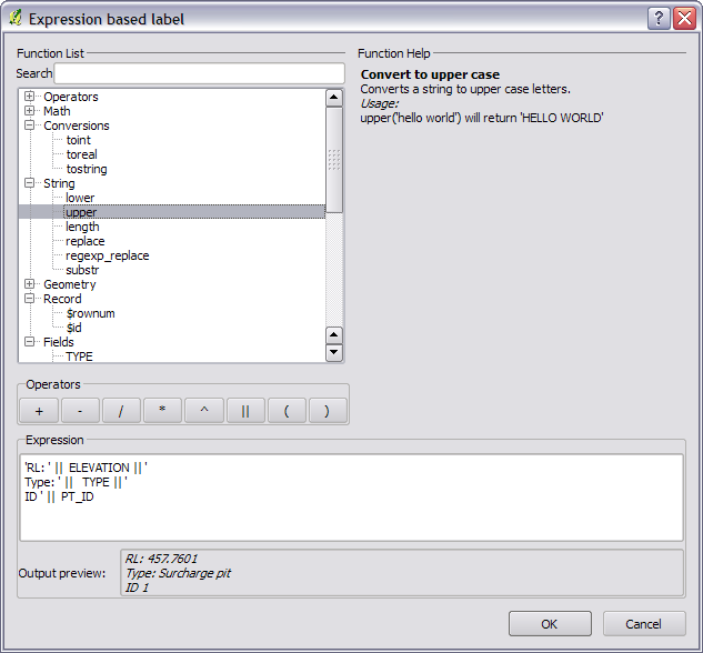 Expression based labeling now in QGIS  – Nathan Woodrow