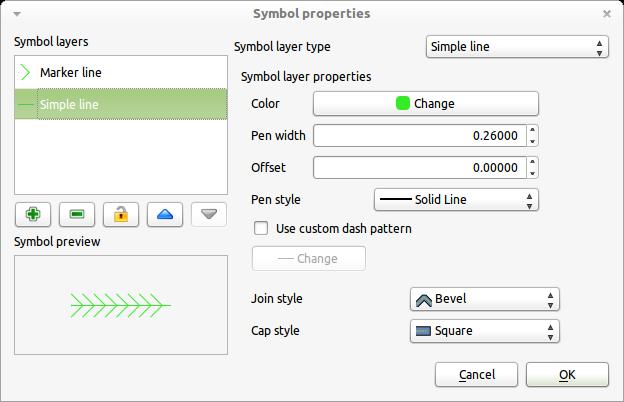 QGIS Style Tricks: Using styles to help fix kerb line