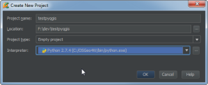 pycharm_newproject