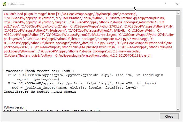 Nathan Woodrow – Page 2 – QGIS Developer, Python (Monty and code